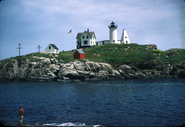 cape neddick nubble light history new england lighthouses a  picture