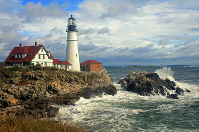 New England Lighthouses A Virtual Guide Home